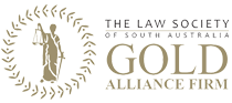 Law Society of South Australia Gold Alliance Firm Logo